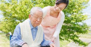 grandpa on his wheelchair